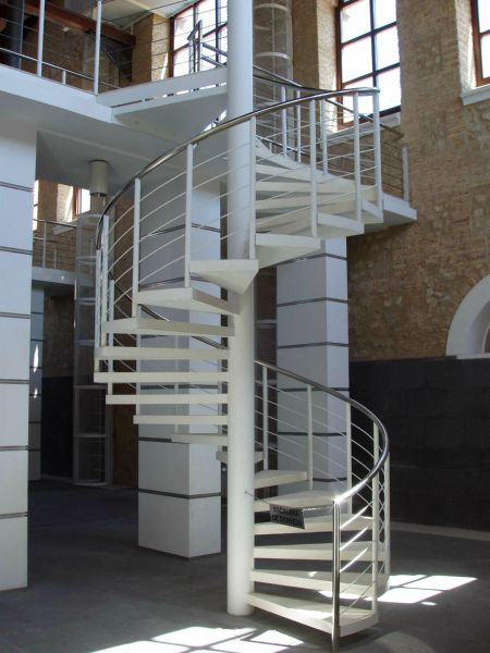 Escaleras armesc - Escaleras de caracol metalicas ...